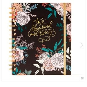 12 Month Rose Floral Planner 2020